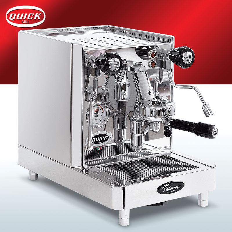 quickmill new vetrano 0995 espressomaschine mit rotationspumpe. Black Bedroom Furniture Sets. Home Design Ideas