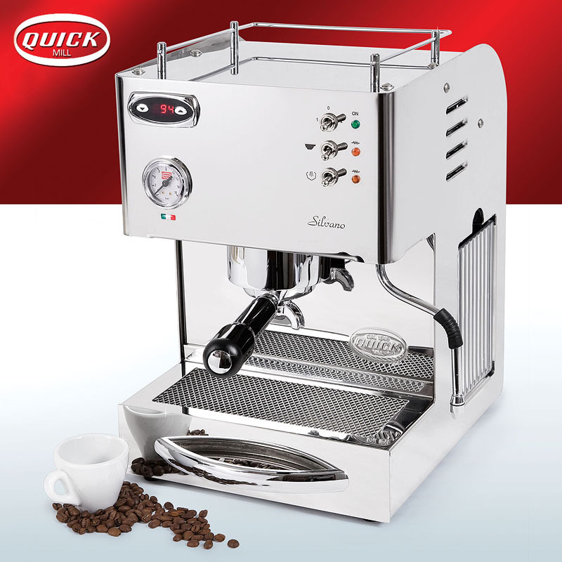 mill silvano espresso machine